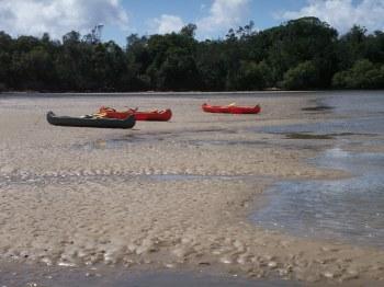 low tide....