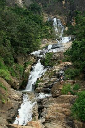 waterfall in Ella
