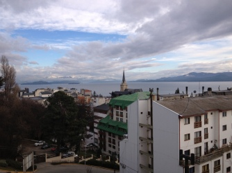 view from my apartment in Bariloche