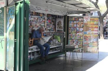 magazine stall